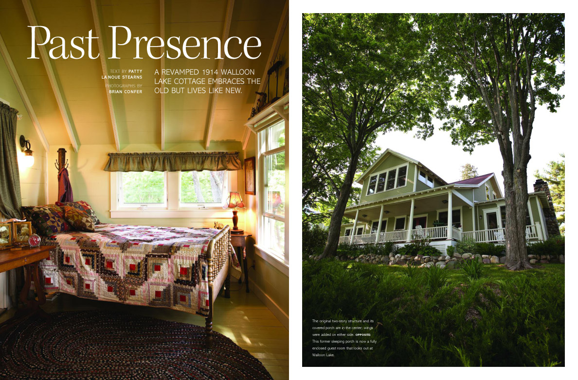 Traverse city michigan graphic design page 9 design Home and cottage magazine