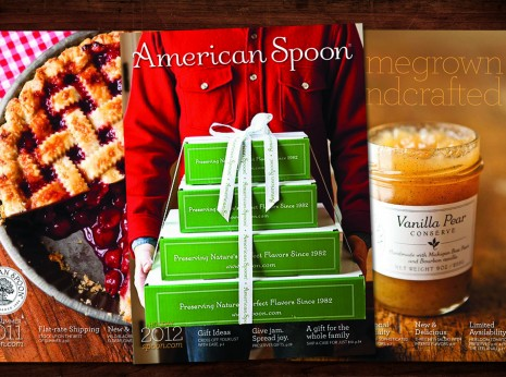 american spoon foods catalog art director designer michigan