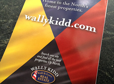 Ad promoting Wally Kidd