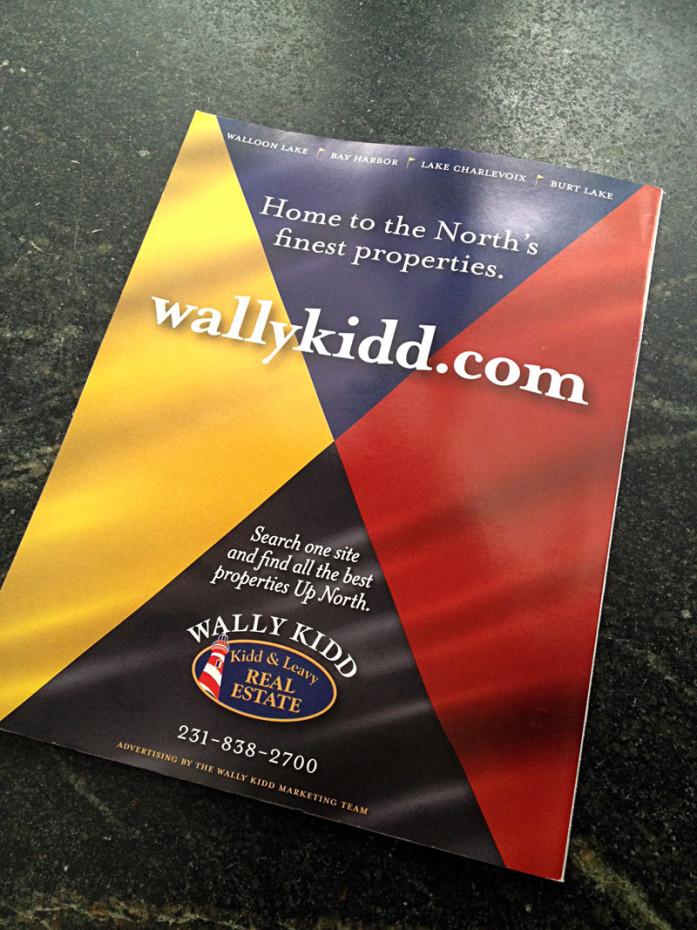 Ad promoting Wally Kidd
